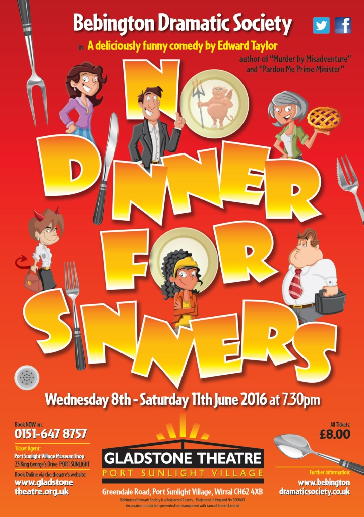No Dinner for Sinners Poster