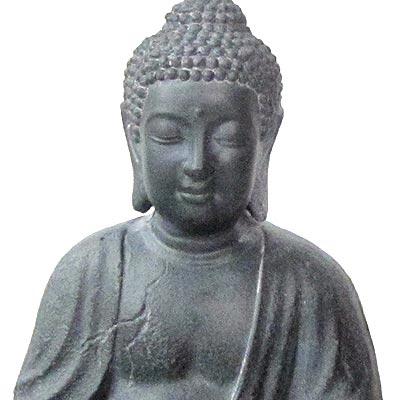 Mims Pottery Zen Buddha