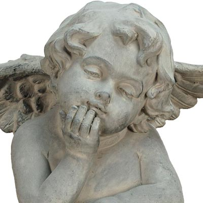 Mims Pottery Angelic Cherub