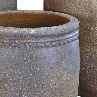 Mims Pottery Old Stone Cylinder