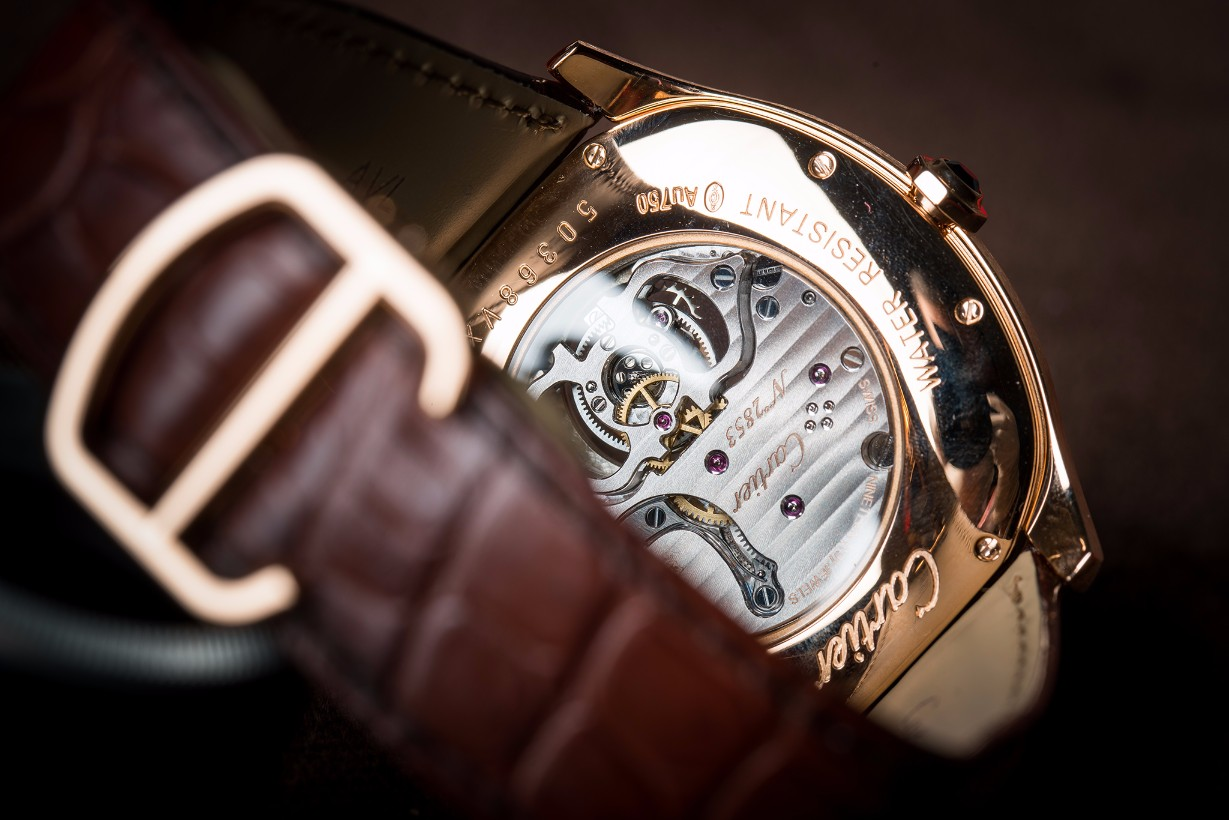 Cartier Flying Tourbillon Back